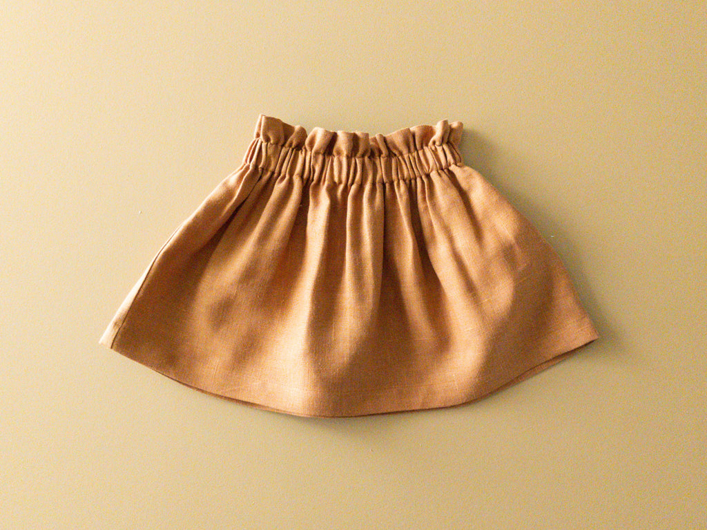 SAMPLE SALE Bag-waist Skirt | Amber, 6-12 months