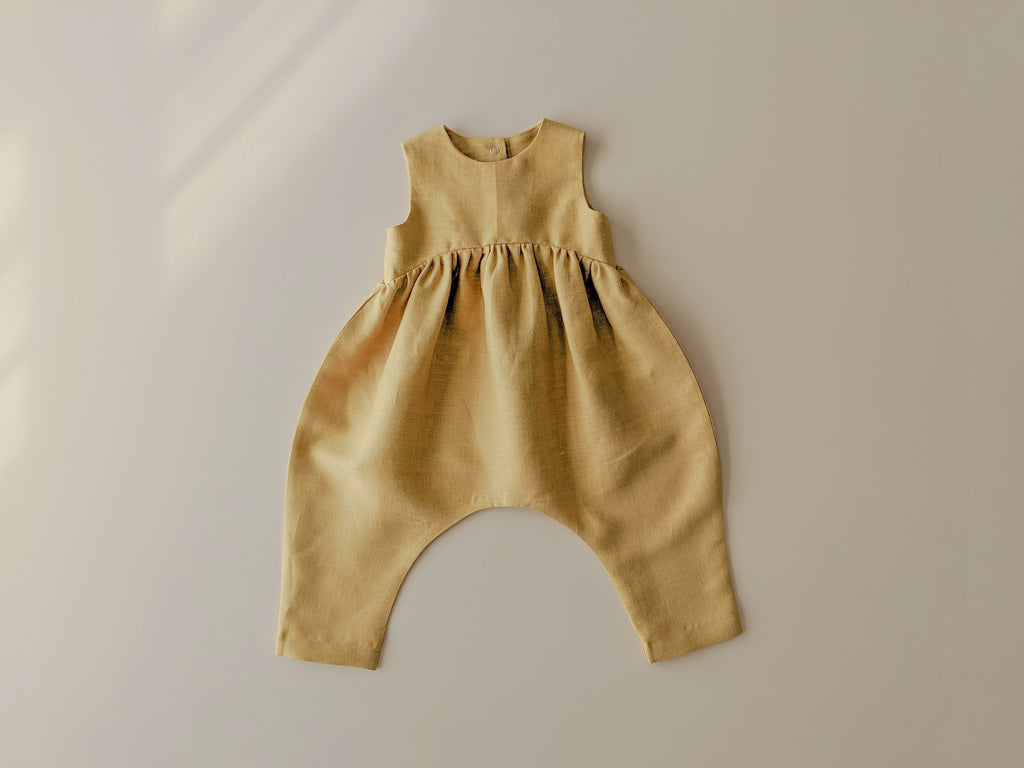 Billow Romper | Honey