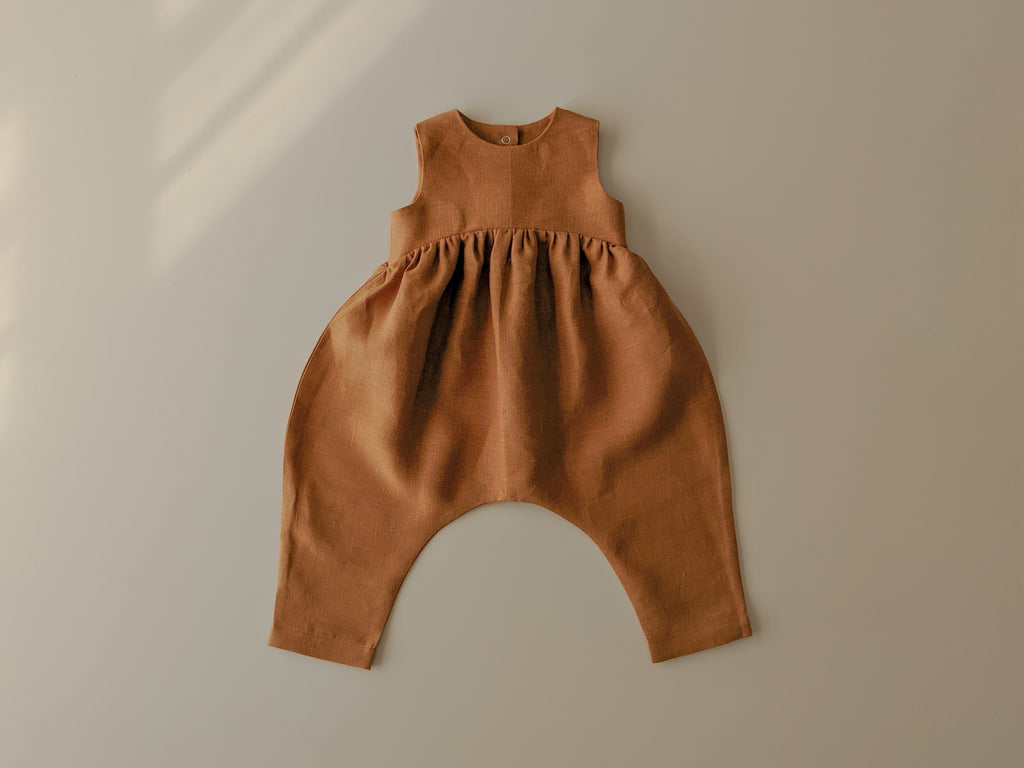 Billow Romper | Amber