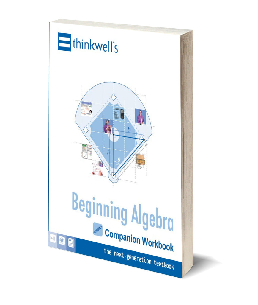 Beginning Algebra Workbook