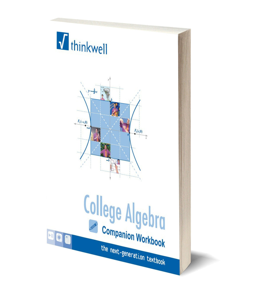 College Algebra Workbook