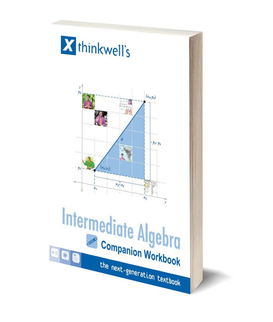 Intermediate Algebra Workbook