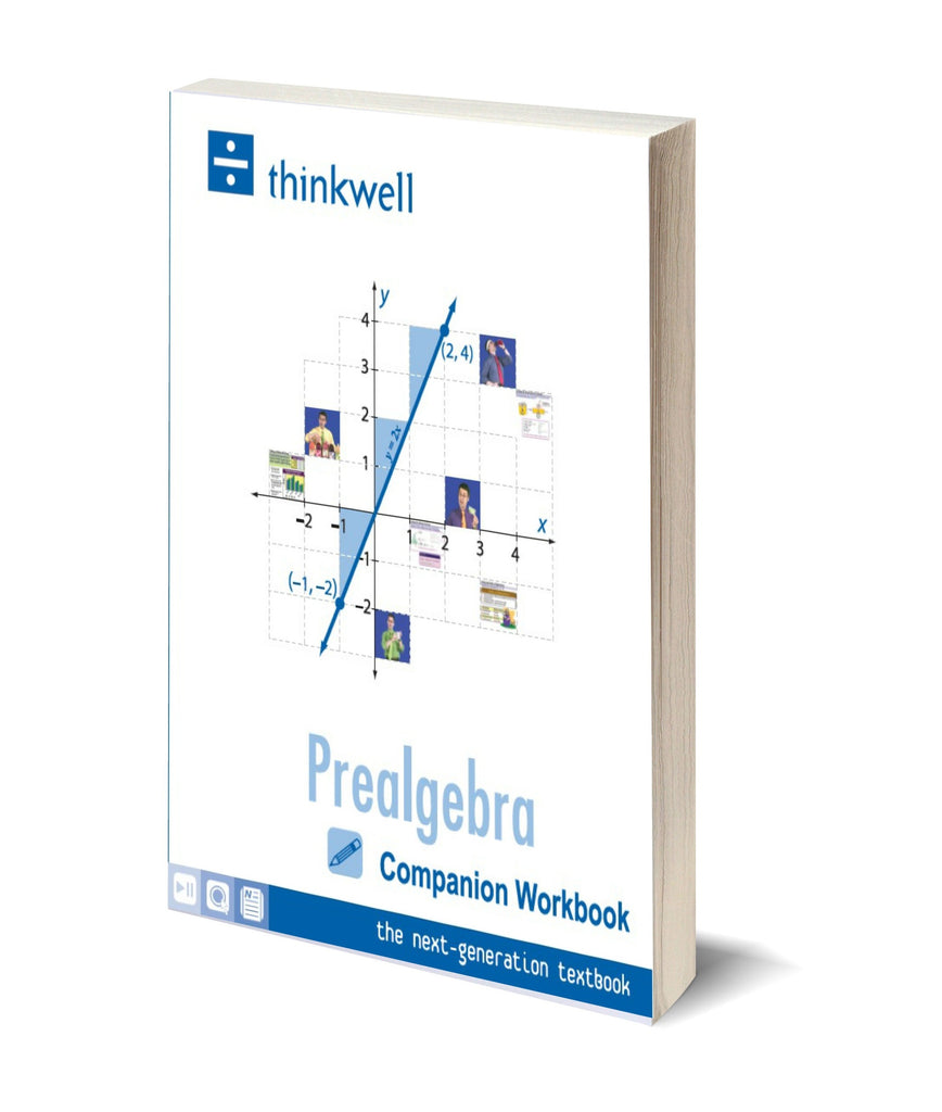 Prealgebra Workbook