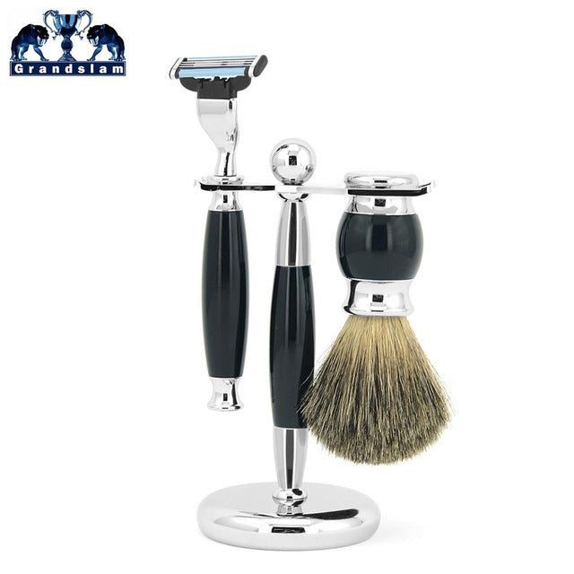 Men Safety Blade Razor Kit