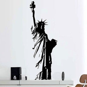 Full Statue of Liberty Wall Sticker