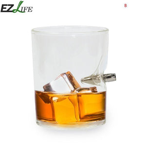 Bullet Whisky Bar Wine Glasses