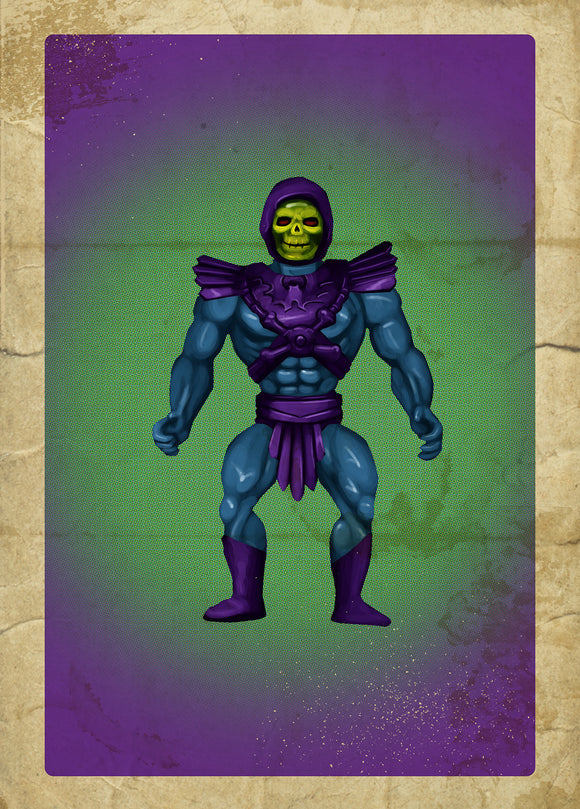 80s Toys Greeting Cards - Skeletor