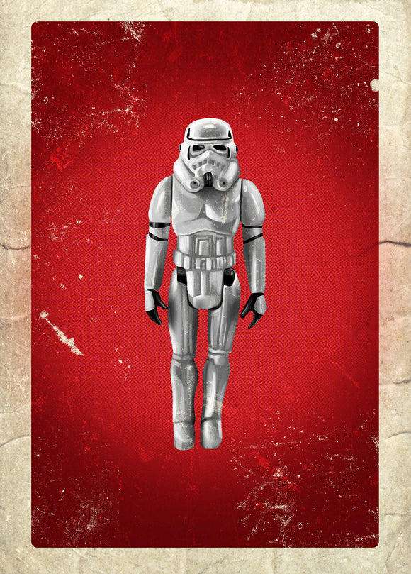 80s Toys Greeting Cards - Stormtrooper