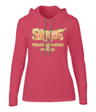 "Anvil Ladies Fashion Long Sleeve Hooded ""Shrug - Procrastination of Power"""
