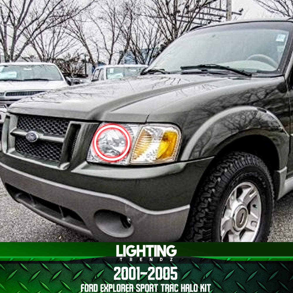 2001 2005 ford explorer sport trac halo kit
