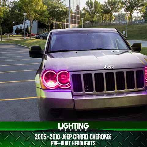 2005-2010 Jeep Grand Cherokee Pre-Built Headlights