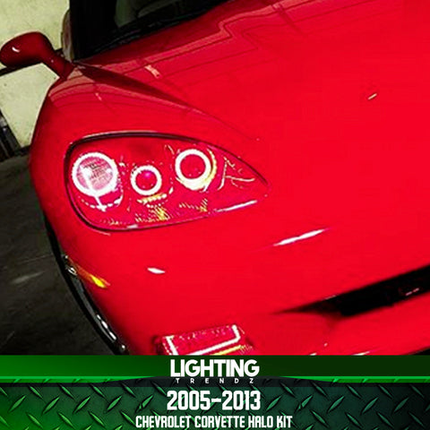 2005-2013 Chevrolet Corvette Halo kit