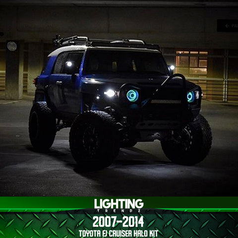 2007-2014 Toyota FJ Cruiser Halo Kit