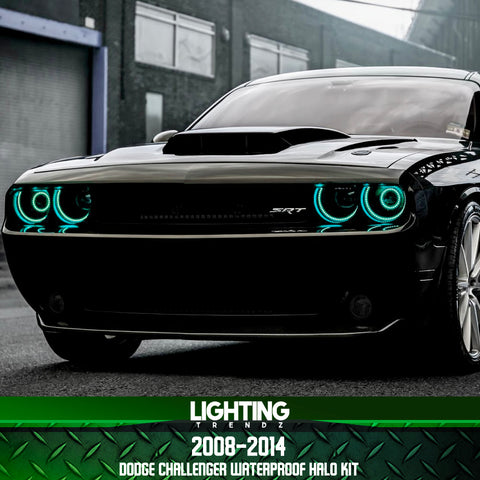 2008-2014 Dodge Challenger Waterproof Halo Kit