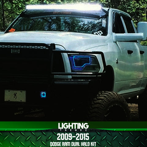 2009-2015 Dodge Ram (Dual) Halo Kit