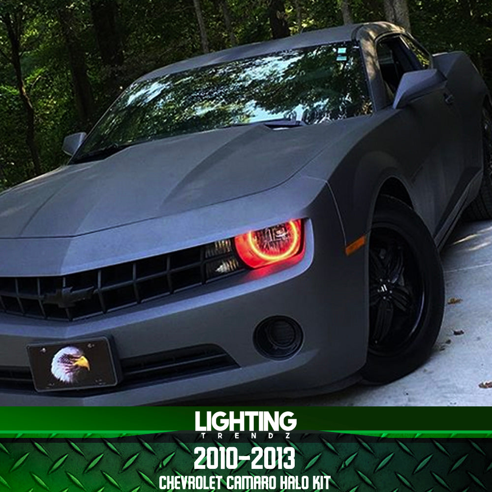 2010 Camaro Rs >> 2010 2013 Chevrolet Camaro Halo Kit Rs Or Non Rs