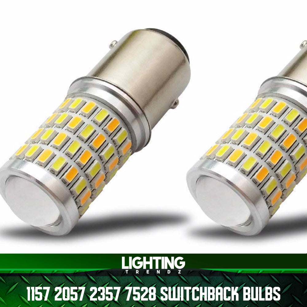 1157 2057 2357 7528 Switchback Bulbs | Turn Signal Replacement