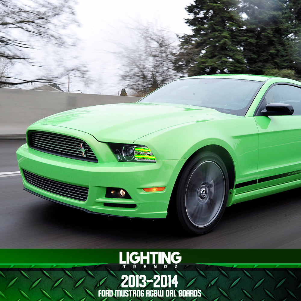 2013-2014 Ford Mustang RGBWA DRL Boards