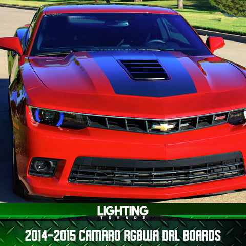 2014-2015  Chevrolet Camaro RGBWA DRL Boards