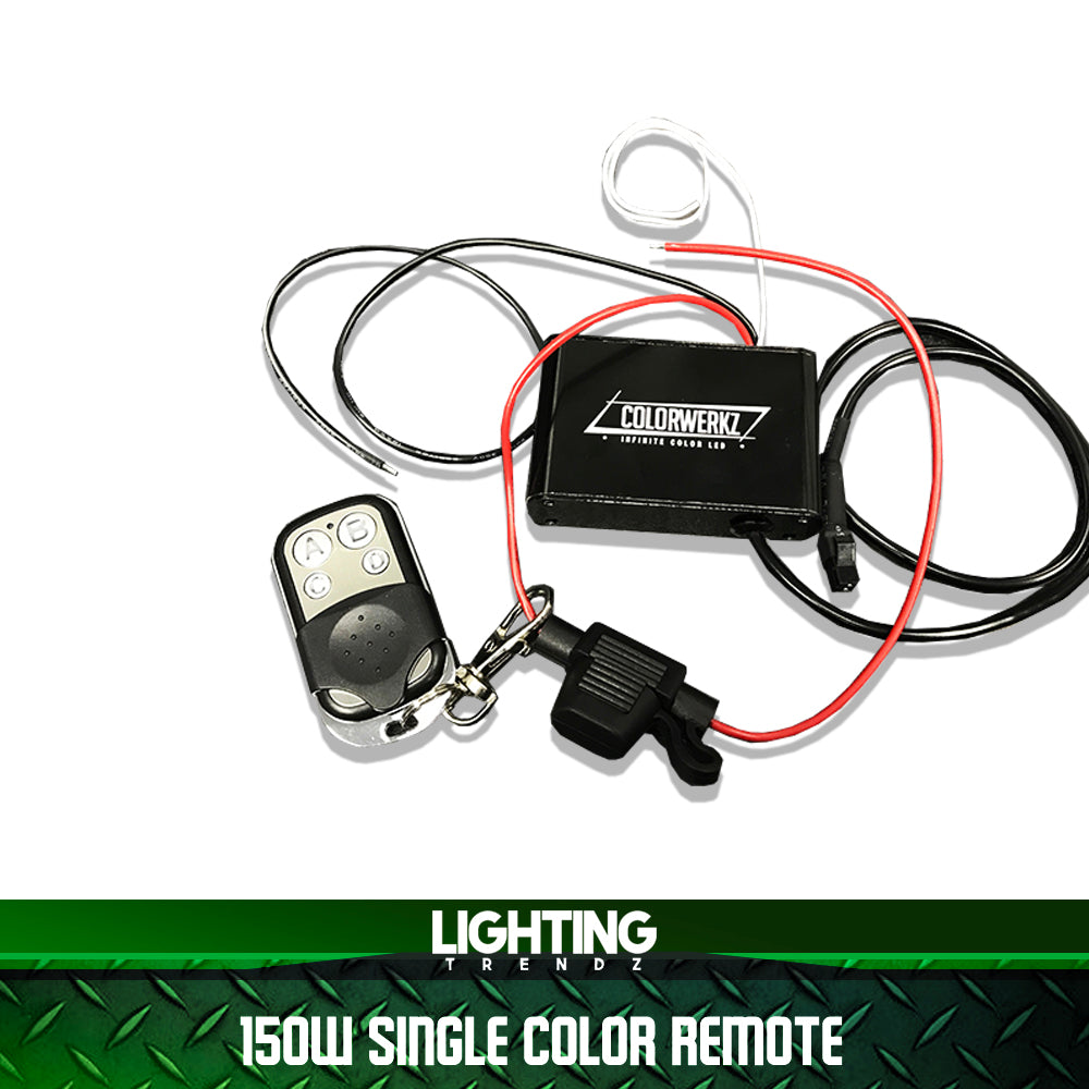 150W Single-Color Remote