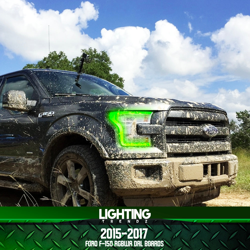 2015-2017 Ford F-150 RGBW+A DRL Boards