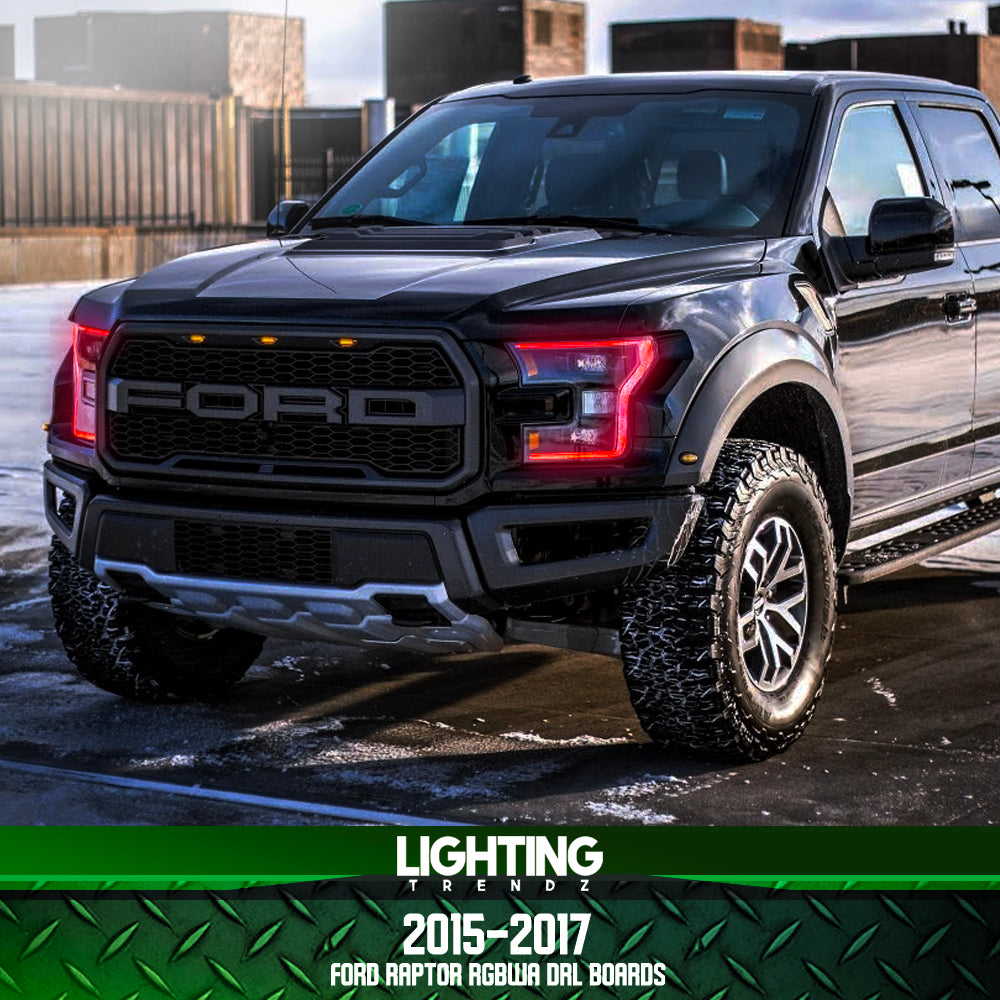 2015-2017 Ford Raptor RGBW+A DRL Boards