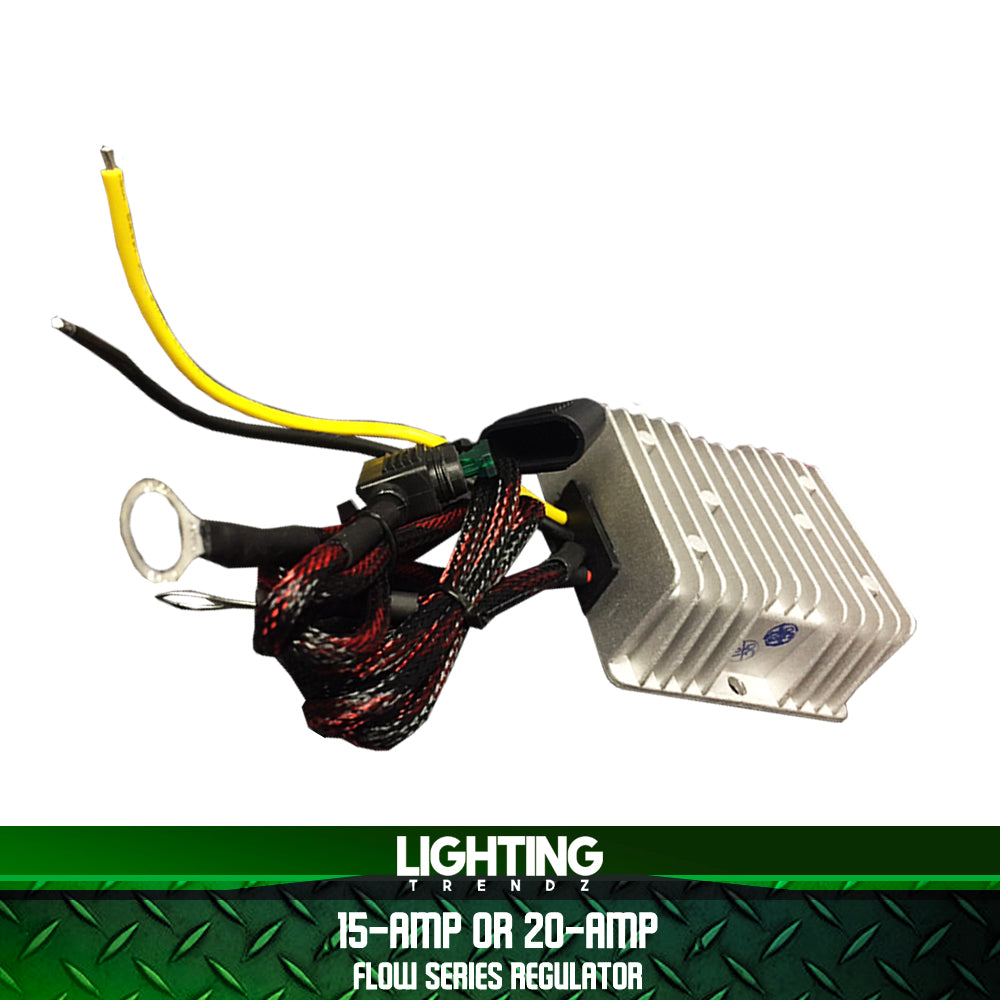 15 Amp Or 20 Flow Series Regulator Lightingtrendz Wiring