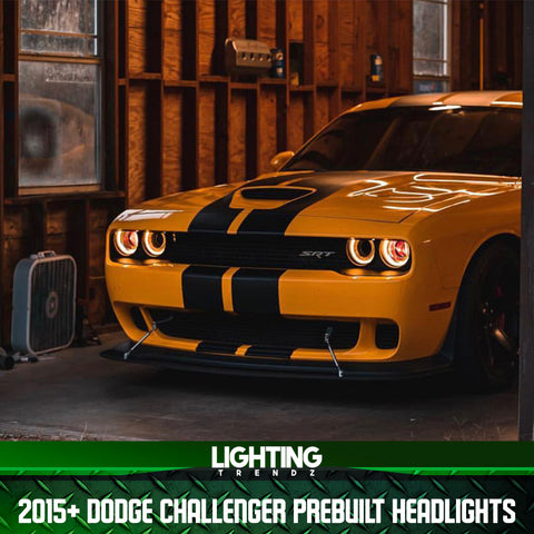2015+ Dodge Challenger Pre-Built Headlights