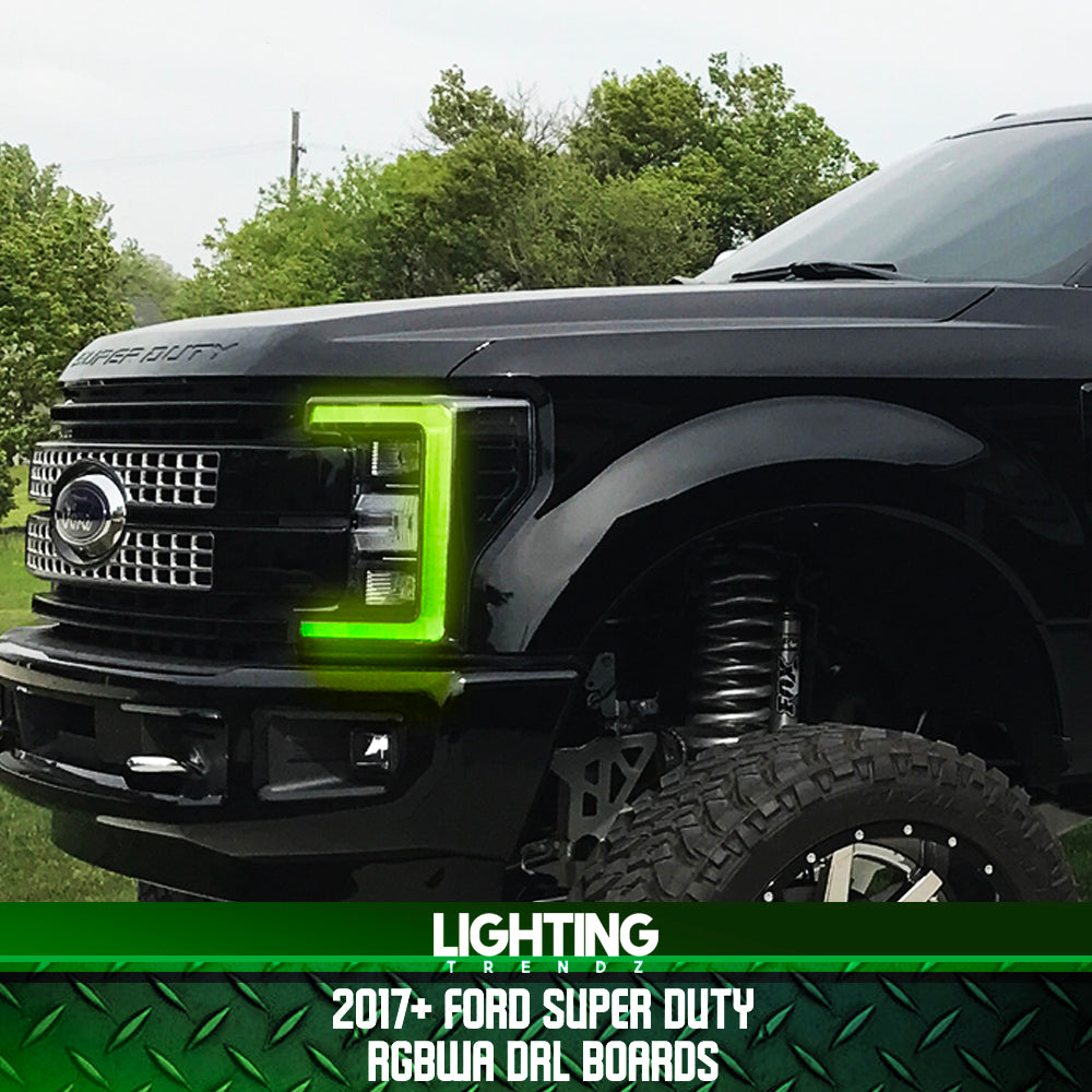 2017+ Ford Super Duty RGBWA DRL Boards