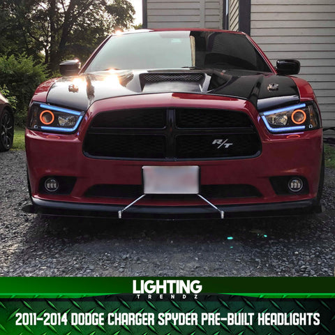2011-2014 Dodge Charger Spyder Pre-Built Headlights