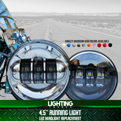 "4.5"" Harley Davidson Replica LED Running Light Replacement"