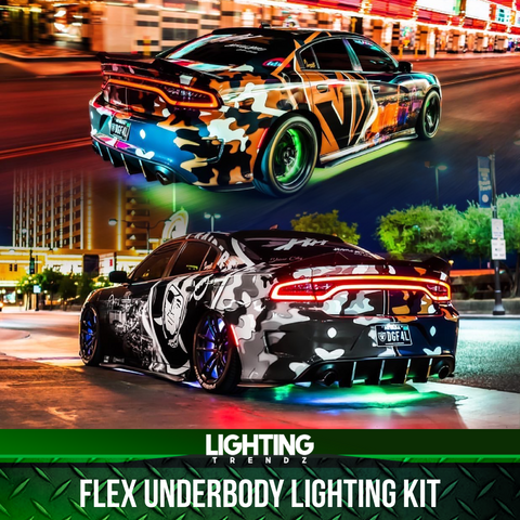 Flex Underbody Lighting Kit (RGB  RGBW or Flow Series)