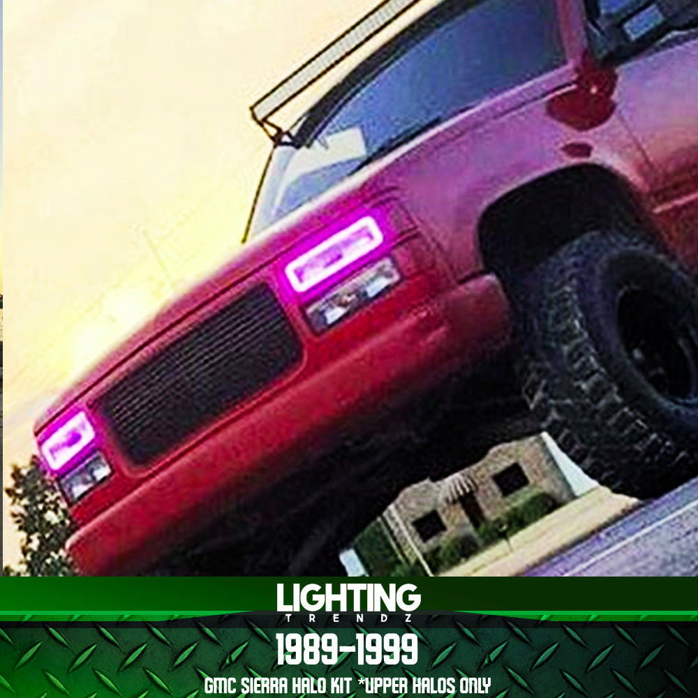 1989-1999 GMC Sierra Halo Kit (Upper Halos Only)