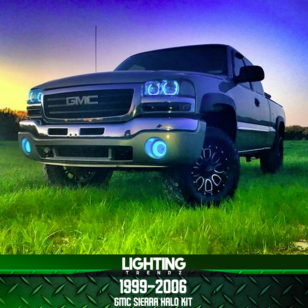 1999-2006 GMC Sierra Halo Kit