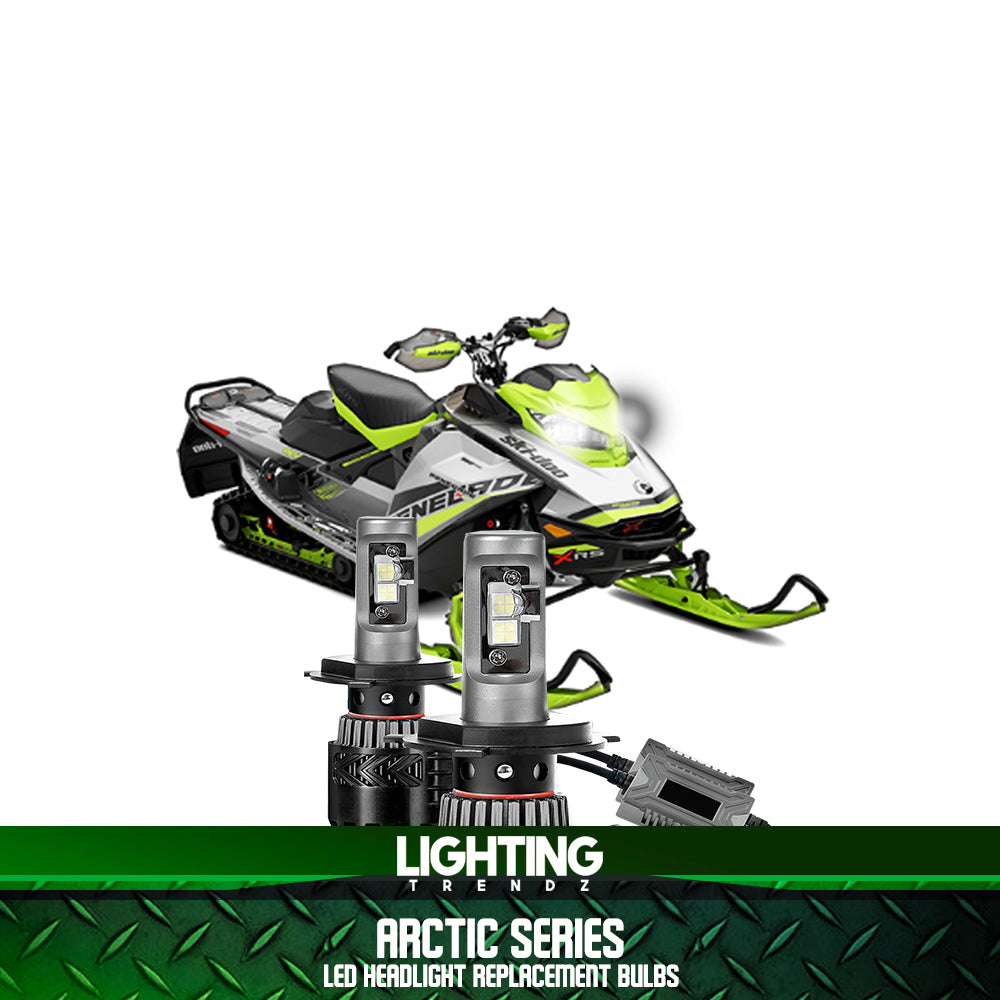 Arctic Series | Hyper White LED Snowmobile Headlight Replacements