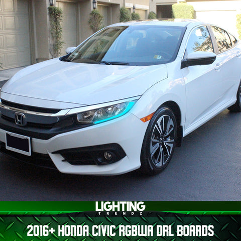 2016+ HONDA CIVIC RGBWA DRL BOARDS