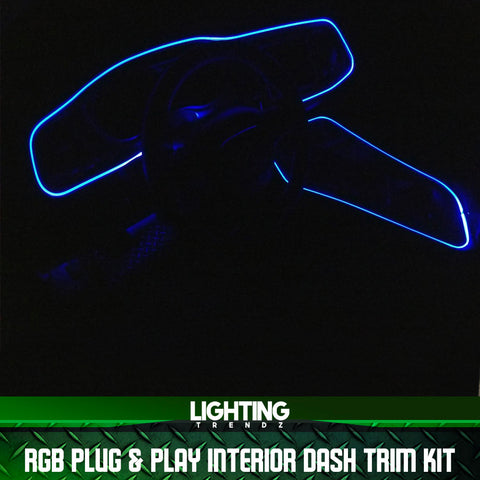 RGB Plug & Play Interior Dash Trim Kit