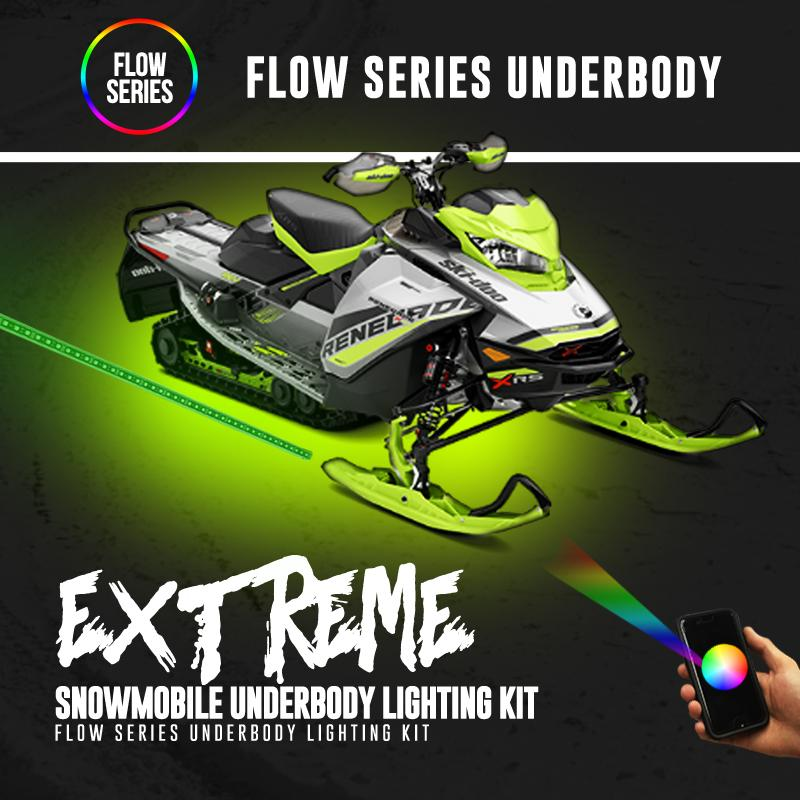 Extreme Snowmobile Underbody Flow Series Lighting Kit