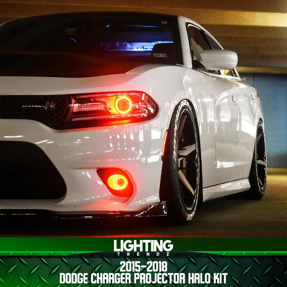 The Halo Light Car Charger