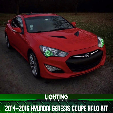 2014-2016 Hyundai Genesis Coupe Projector Halo Kit