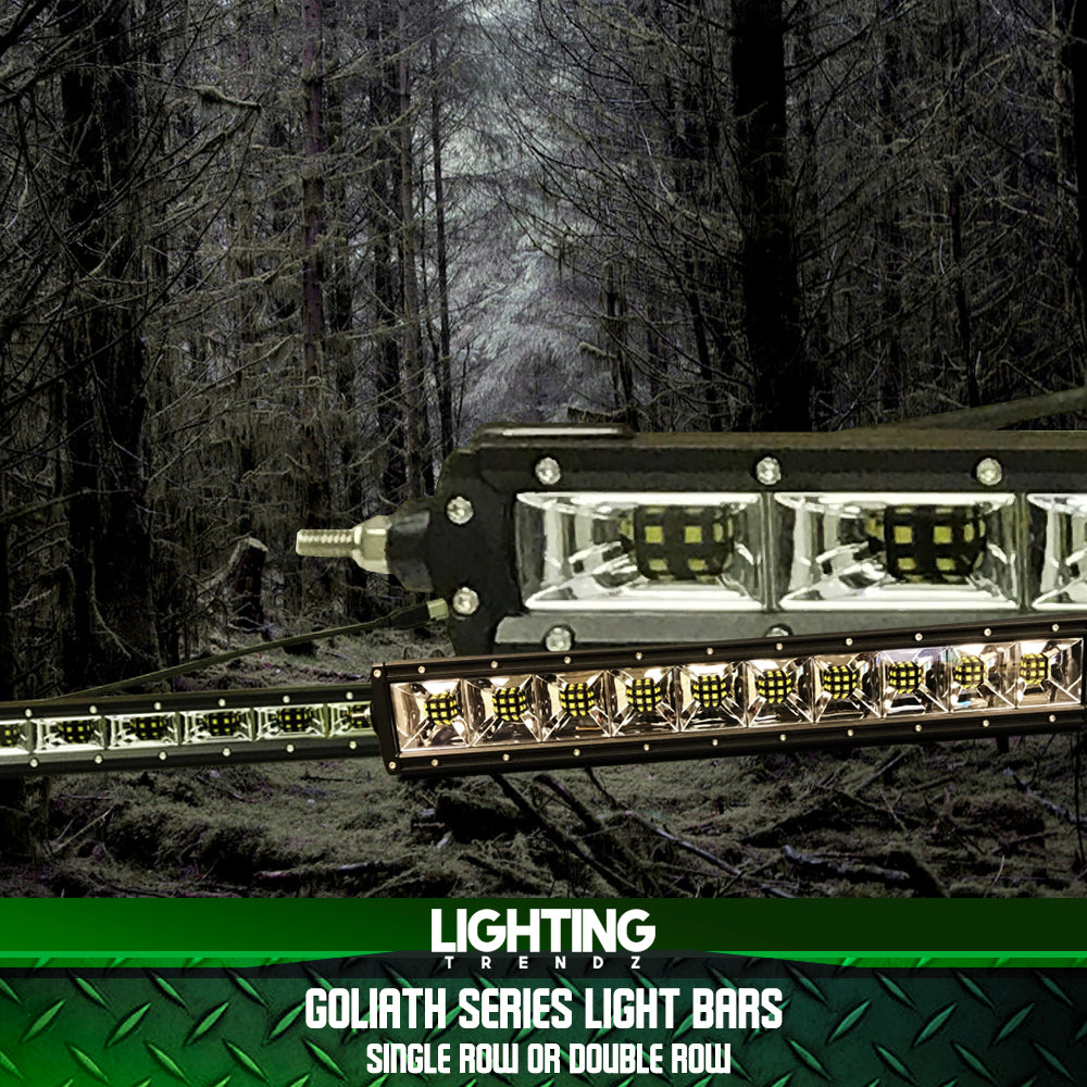 Goliath Series Light Bars (Single Row or Double Row)