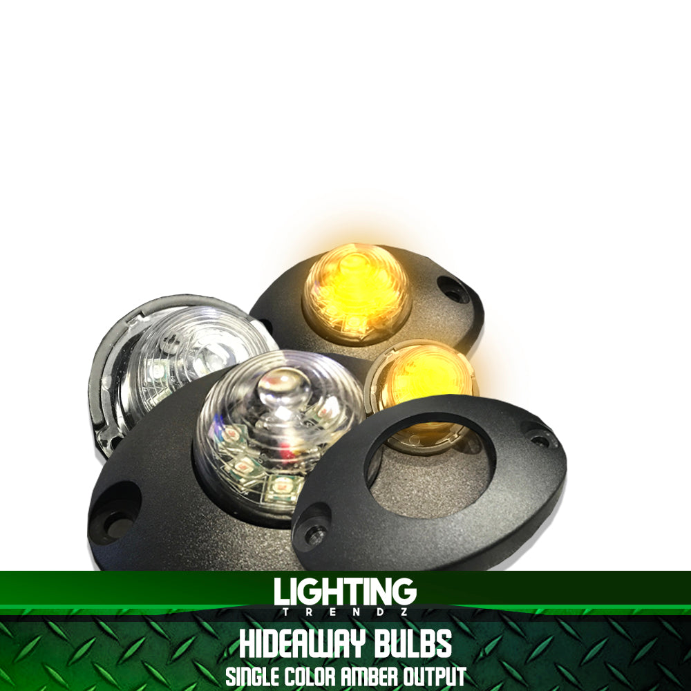 Hideaway Bulbs | Single Color Amber Output