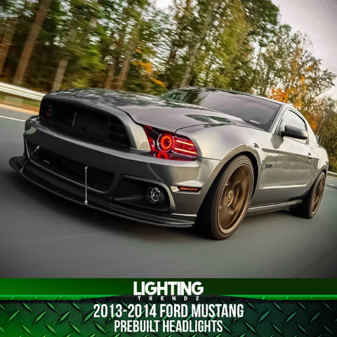 2013-2014 Ford Mustang Prebuilt Headlights (Factory HID Compatible)