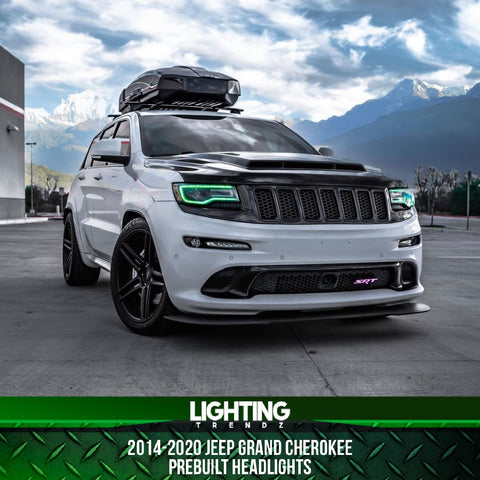 2014-2020 Jeep Grand Cherokee Pre-Built Headlights