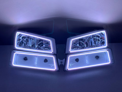 2003-2006 Chevrolet Silverado Pre-Built Headlights
