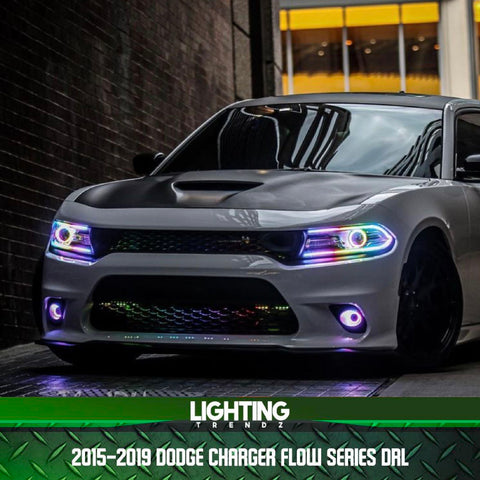 2015-2020 Dodge Charger Flow Series Drl