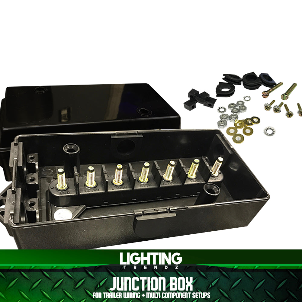 Junction Box (For Trailer Wiring + Multi-Component Setups)