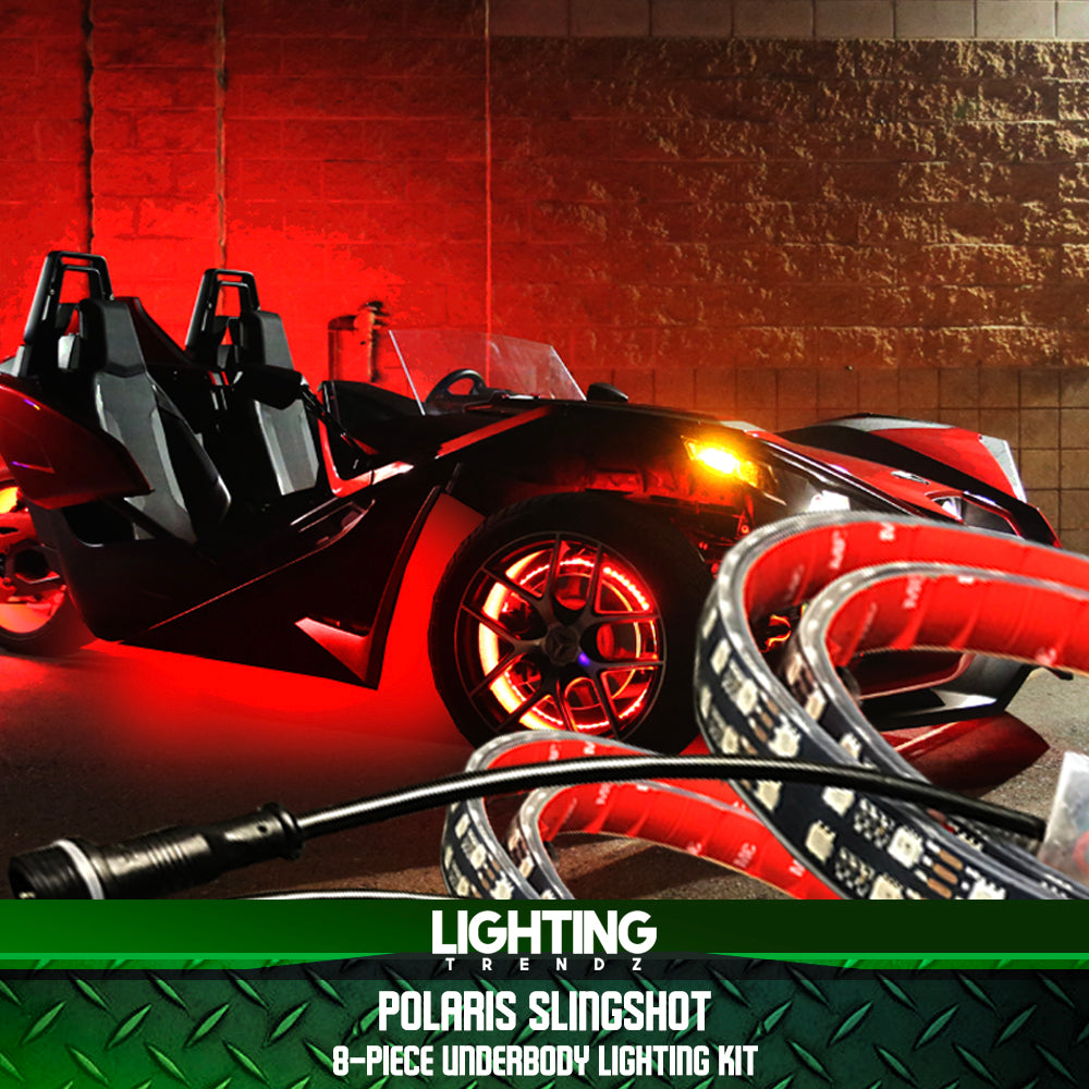 Polaris Slingshot 8-Piece Underbody Kit
