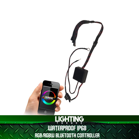 Waterproof RGBW Bluetooth Remote