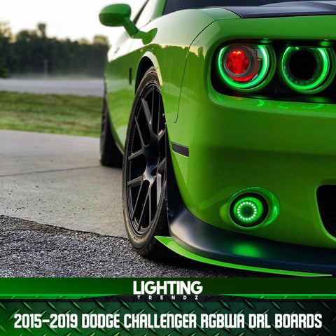 2015-2019 Dodge Challenger RGBWA DRL Boards